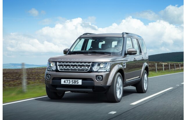 Land Rover Discovery 2016