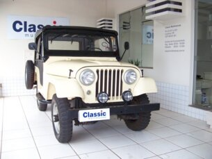Super Oferta: Ford Jeep Willys 1980/1980 2P Amarelo Gasolina