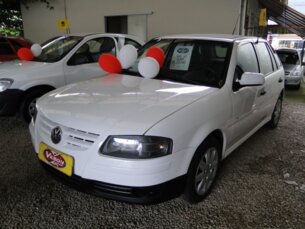Super Oferta: Volkswagen Gol 1.0 (G4) (Flex) 2008/2008 4P Branco Flex