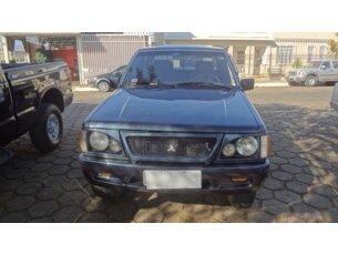 Super Oferta: Mitsubishi L 200 GL 4x4 2.5 Turbo (nova série) (cab. dupla) 2001/2001 4P Azul Diesel