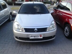 Super Oferta: Renault Symbol 1.6 8V Hi-Torque SL Conectividade 2010/2011 4P Prata Flex