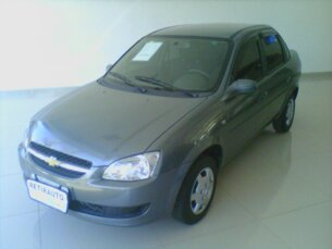 Super Oferta: Chevrolet Classic LS VHC E 1.0 (Flex) 2012/2013 4P Cinza Flex