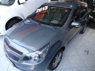 Super Oferta: Chevrolet Agile LTZ 1.4 8V (Flex) 2013/2013 4P Cinza Flex