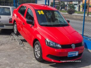 Super Oferta: Volkswagen Voyage 1.6 VHT (Flex) 2013/2014 4P Vermelho Flex