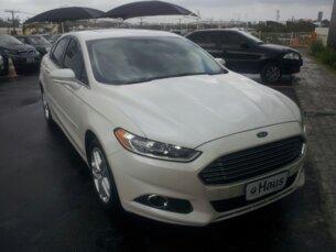 Super Oferta: Ford Fusion 2.5 16V iVCT (Flex) (Aut) 2013/2014 4P Branco Gasolina