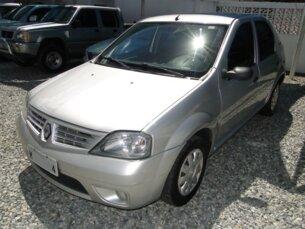 Super Oferta: Renault Logan Authentique 1.0 16V (flex) 2009/2009 4P Prata Flex