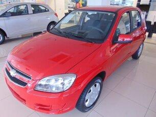 Super Oferta: Chevrolet Celta 1.0 LT (Flex) 2014/2015 4P Vermelho Flex