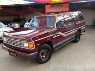 Super Oferta: Chevrolet D20 Pick Up Custom Luxe 4.0 (Cab Dupla) 1992/1992 4P Vinho Diesel