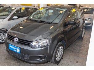 Super Oferta: Volkswagen Fox 1.0 TEC (Flex) 4p 2013/2014 4P Cinza Flex