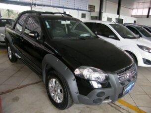 Super Oferta: Fiat Strada Adventure 1.8 8V (Flex) (Cab Dupla) 2010/2010 2P Preto Flex