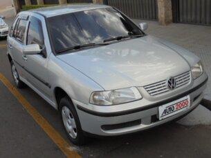 Super Oferta: Volkswagen Gol 1.0 MI 16V (G3) 1999/2000 4P Prata Gasolina