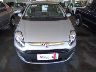 Super Oferta: Fiat Punto Attractive 1.4 (Flex) 2014/2014 4P Prata Flex