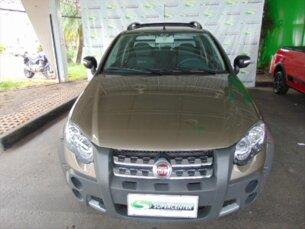Super Oferta: Fiat Strada Adventure 1.8 16V (Flex) (Cab Dupla) 2011/2012 2P Cinza Flex