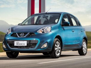 Super Oferta: Nissan March 1.0 16V S (Flex) 2014/2015 4P Preto Flex