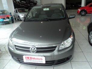 Super Oferta: Volkswagen Voyage 1.0 Total Flex 2011/2011 4P Cinza Flex