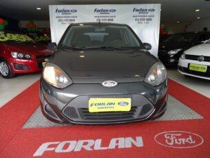 Super Oferta: Ford Fiesta Hatch 1.0 (Flex) 2010/2011 P Cinza Flex