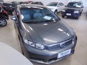 Super Oferta: Honda New Civic LXS 1.8 16V i-VTEC (aut) (flex) 2012/2013 4P Cinza Flex
