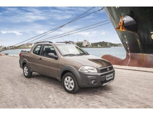 Super Oferta: Fiat Strada Working 1.4 (Flex)(Cab Dupla) 2014/2015 P  Flex