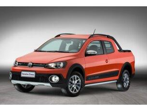 Super Oferta: Volkswagen Saveiro Cross 1.6 16v MSI (Flex) (Cab Dupla) 2014/2015 P  Flex