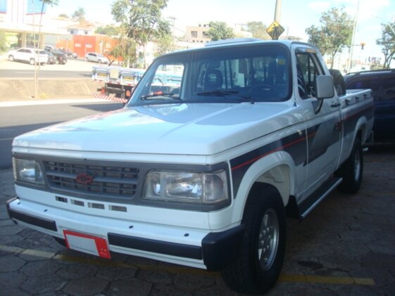 CHEVROLET C20 PICK UP CUSTOM LUXE 4.1 MPFI  CAB SIMPLES