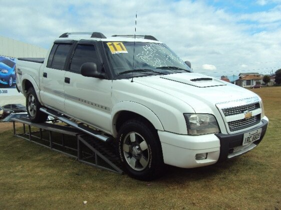 CHEVROLET S10 EXECUTIVE 4X4 2.8 TURBO ELECTRONIC  CAB DUPLA