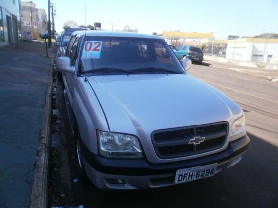 CHEVROLET S10 LUXE 4X4 2.8  CAB DUPLA