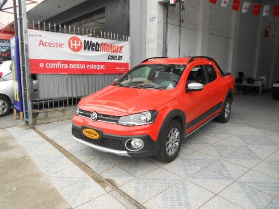 VOLKSWAGEN SAVEIRO CROSS 1.6 16V MSI  FLEX   CAB DUPLA
