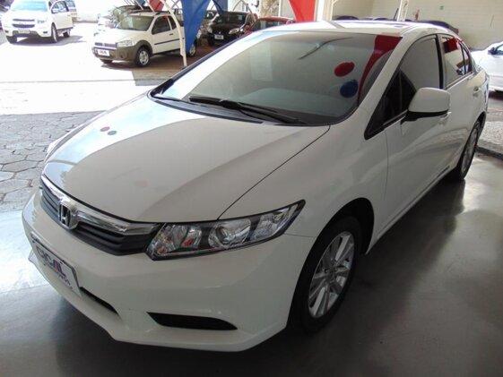 HONDA NEW CIVIC LXS 1.8 16V I-VTEC  AUT   FLEX