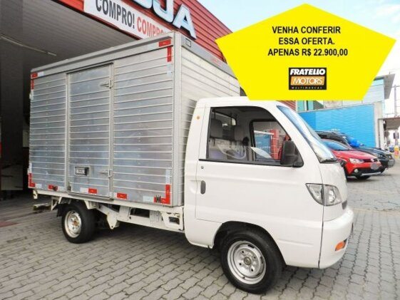 HAFEI TOWNER TOWNER PICK-UP 1.0  COM BAÚ 5M³