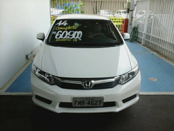 HONDA NEW CIVIC LXS 1.8 16V I-VTEC  AUT   FLEX