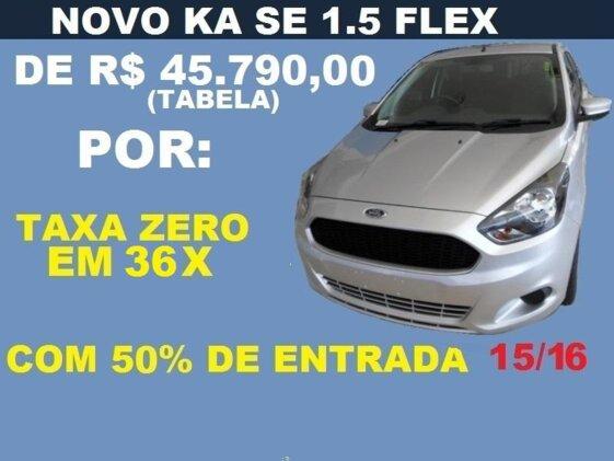 FORD KA HATCH SE 1.5 16V  FLEX