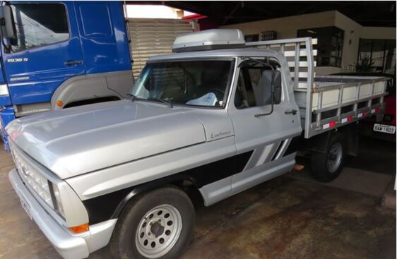 FORD F1000 SUPER 3.9  CAB SIMPLES