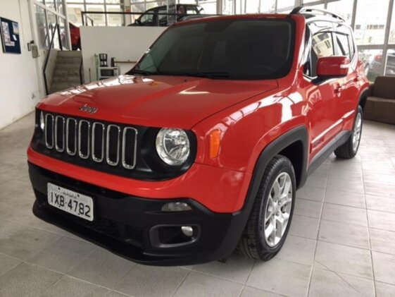 JEEP RENEGADE LONGITUDE 1.8  AUT   FLEX
