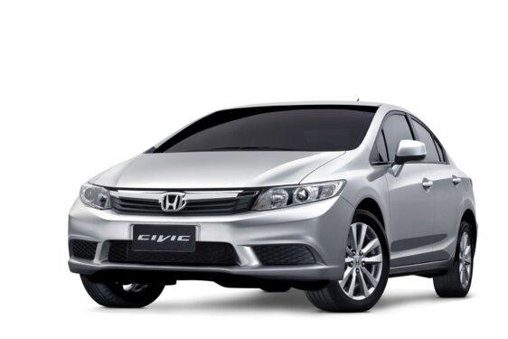 HONDA NEW CIVIC LXS 1.8 16V I-VTEC  FLEX