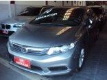 Honda New Civic LXS 1.8 16V i-VTEC (aut) (flex) 2013/2014 4P Cinza Flex
