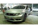 Honda Civic LXR 2.0 i-VTEC (Flex) (Aut) 2014/2015 4P Prata Flex