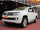 Volkswagen Amarok 2.0 CD 4x4 TDi Highline (Aut) 2015/2016 4P Branco Diesel