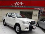 Toyota Hilux 3.0 TDI 4x4 CD SRV (Aut) 2014/2014 4P Branco Diesel