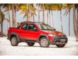 Fiat Strada Adventure 1.8 16V (Flex) (Cab Dupla) 2016/2016 3P Vermelho Flex