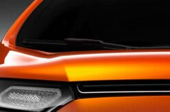 Ford mostra um pedaço do novo EcoSport