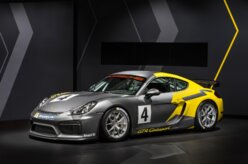Los Angeles: Posche exibe Cayman GT4 Clubsport