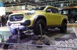Mercedes expõe a picape Classe X, que chega até 2020