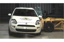Fiat Punto é o primeiro carro a zerar no teste do Euro NCAP