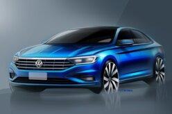 Novo Volkswagen Jetta 2019 é revelado em teaser