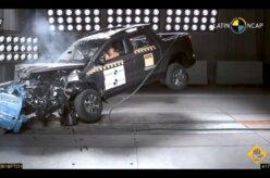 Fiat Toro consegue quatro estrelas no Latin NCAP
