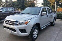 JAC lança clone da Toyota Hilux na China