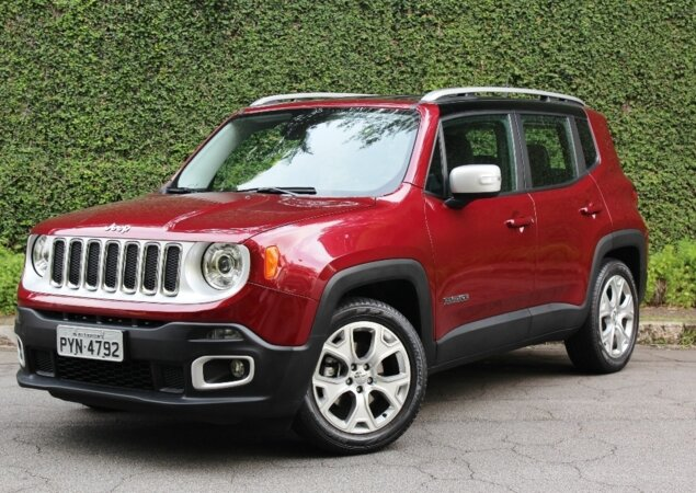 Jeep convoca Renegade modelos 2015 a 2017 por falha no freio