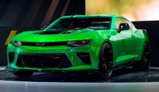 Genebra: Chevrolet exibe o invocado Camaro Track