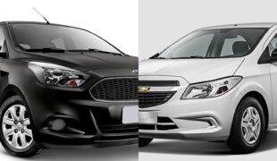 Em números: Ford Ka S ou Chevrolet Onix Joy?