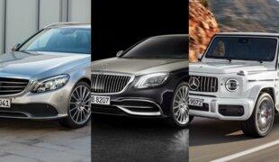 Mercedes apresenta novos Classe C, Classe S Maybach e G 63
